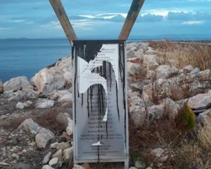 Λέσβος: Καταστράφηκε από αγνώστους το μνημείο στη Θερμή για τους πνιγμένους πρόσφυγες