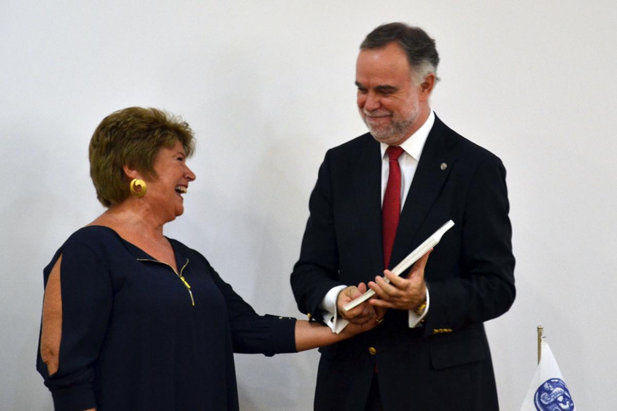 Η πρώτη γυναίκα πρύτανης παρέλαβε τη διοίκηση του Πανεπιστημίου Αιγαίου