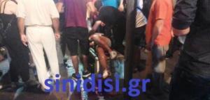 Αγρίνιο: Στα χέρια της Αστυνομίας βίντεο με τον τραυματισμό της 19χρονης από φωτοβολίδα