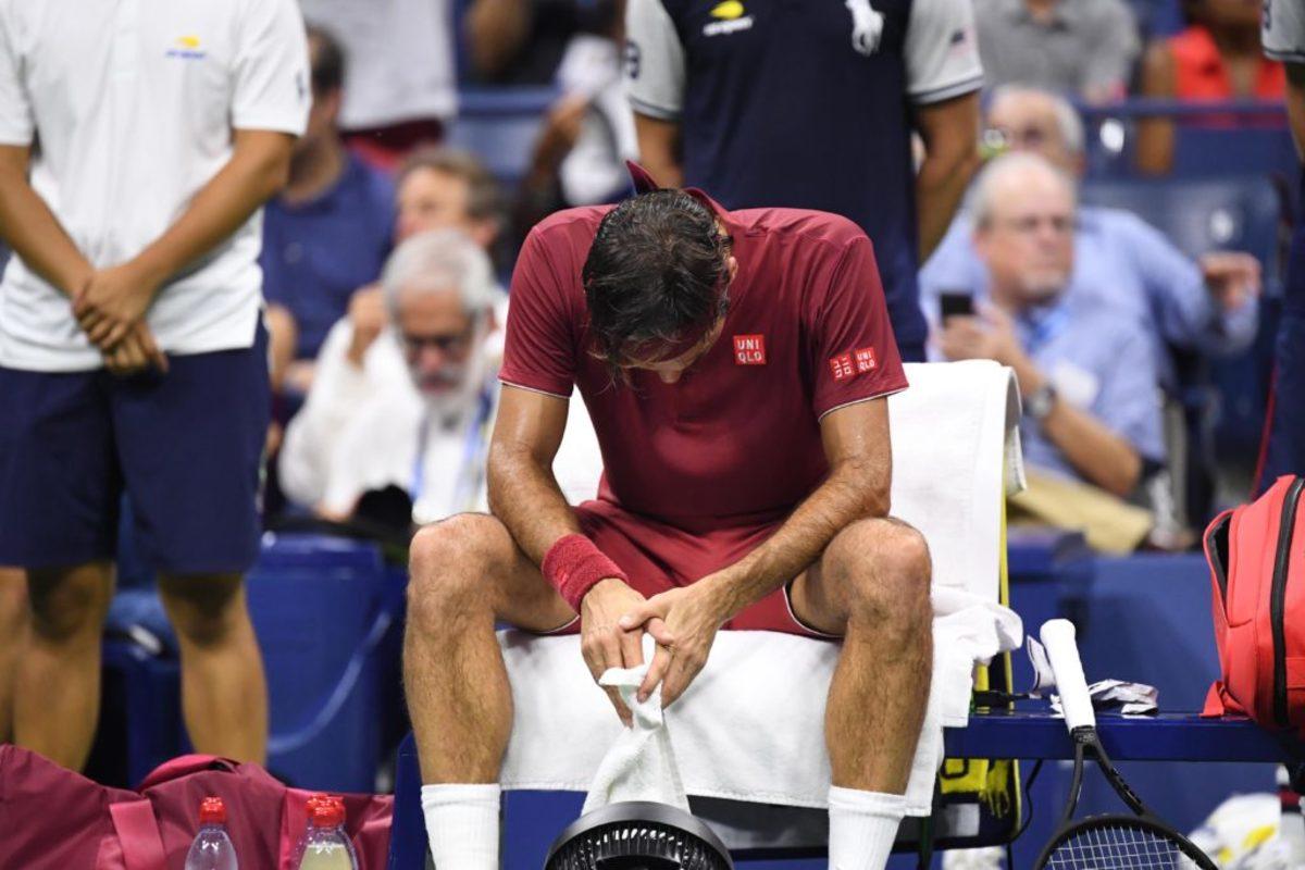 """""""Βόμβα"""" στο US Open! Εκτός προημιτελικών ο Φέντερερ"""