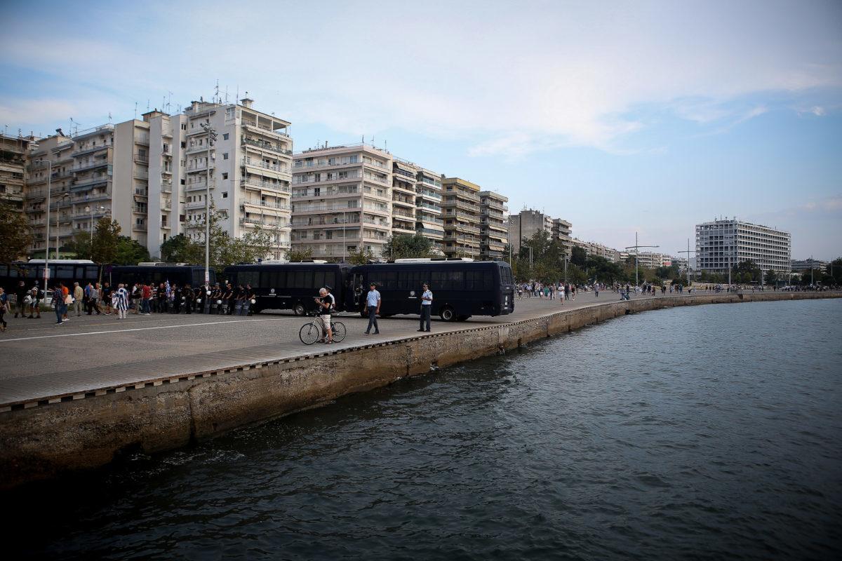 Θεσσαλονίκη: Παρέμβαση εισαγγελέα για τον διαδηλωτή με το όπλο