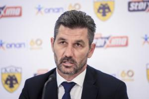 """Ουζουνίδης: """"Ανερχόμενη δύναμη στο ευρωπαϊκό ποδόσφαιρο η ΑΕΚ"""""""