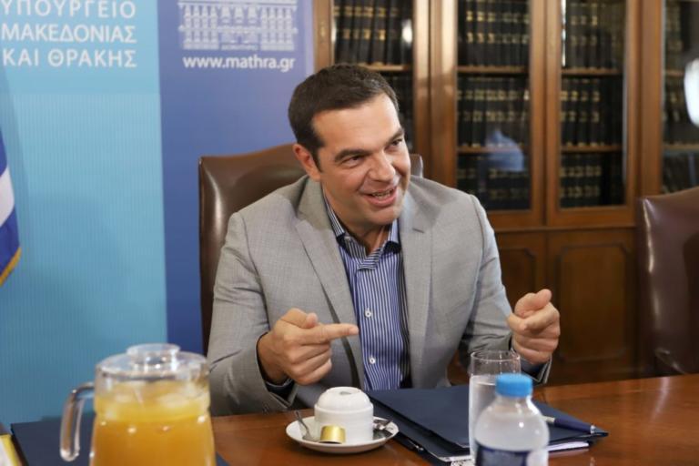 """Τσίπρας: """"Οι αλλαγές στην Παιδεία ενισχύουν την κριτική γνώση έναντι της παπαγαλίας"""""""