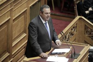 Καμμένος: Ο Ζάεφ παραβιάζει τη συμφωνία – Η κυβέρνηση πρέπει να απαντήσει