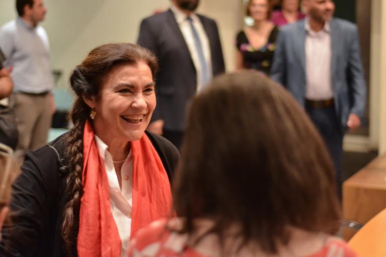 Το Ποτάμι για Κονιόρδου – Την καλεί να επιστρέψει στο αρχαίο θέατρο και να αφήσει τις κομματικές καρέκλες