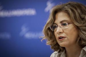 """Μαρία Σπυράκη για Τσίπρα: """"Δεν τον πιστεύει κανένας πολίτης, επενδυτής, συνομιλητής"""""""