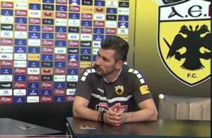"""ΑΕΚ – Ουζουνίδης: """"Πρόκληση το Champions League! Το μυαλό μόνο στον Πανιώνιο"""""""