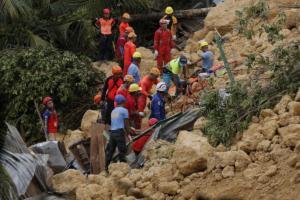 12 νεκροί στις Φιλιππίνες από νέα κατολίσθηση