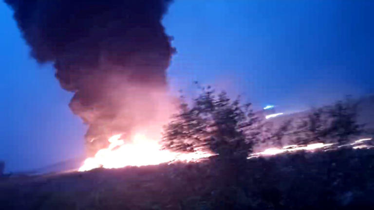 Δραματικές σκηνές διάσωσης 170 επιβατών φλεγόμενου αεροσκάφους! – video