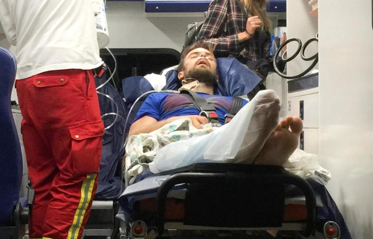 Στο Βερολίνο για νοσηλεία ο ακτιβιστής των Pussy Riot που δηλητηριάστηκε [pics]