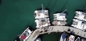 Απίστευτο! Drones της ΑΑΔΕ έκαναν τσακωτούς σκαφάτους φοροφυγάδες – video