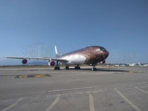 Το αεροσκάφος του πλουσιότερου Ρώσου στα Χανιά – Αξίζει 450 εκατ. δολάρια! [pics]
