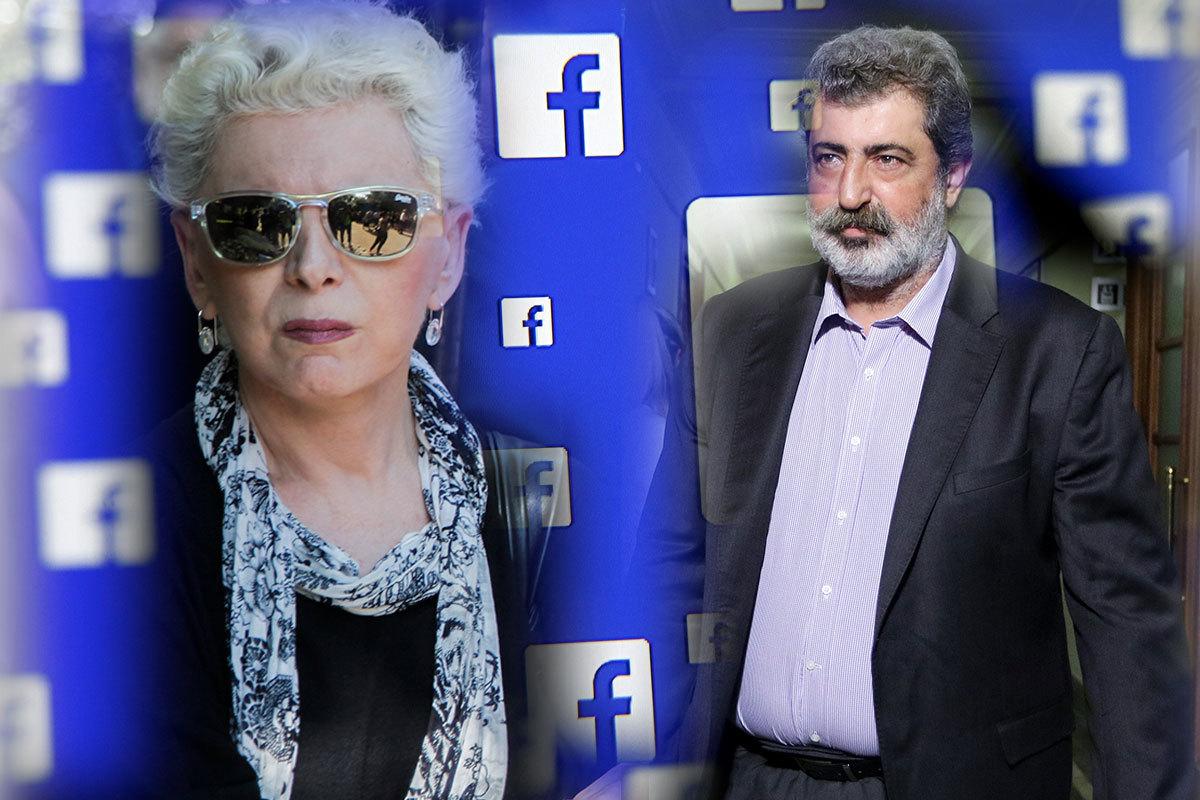 Έλενα Ακρίτα: Οργισμένο post κατά του Παύλου Πολάκη