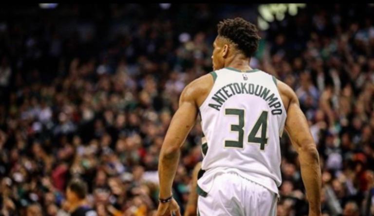 Γράφει ιστορία ο Αντετοκούνμπο! Πέρασε στην 1η θέση του NBA