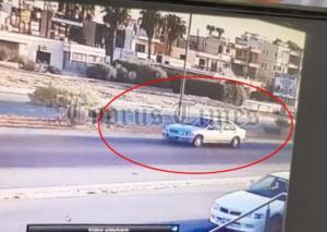 """Λάρνακα: Αυτό είναι το ύποπτο όχημα που """"έπιασαν"""" κάμερες ασφαλείας [pic]"""