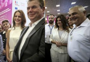 """ΔΕΘ 2018: Λαμπερές στα """"λευκά"""" οι Αχτσιόγλου – Νοτοπούλου! Εντυπωσιακές εμφανίσεις [pics]"""
