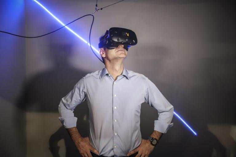 ΔΕΘ 2018: Η… εικονική πραγματικότητα του Κυριάκου Μητσοτάκη [pics]