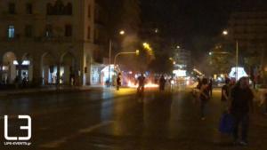 Θεσσαλονίκη: Επεισόδια στην πορεία για τον Παύλο Φύσσα – Video