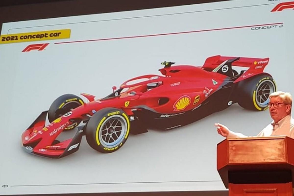 Έτσι θα είναι τα μονοθέσια της Formula 1 το 2021