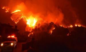 Φωτιά στην Αχαΐα: Μεγάλες διαστάσεις η πυρκαγιά στα Σαγέικα!