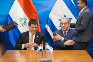 Η Παραγουάη ανακαλεί την μεταφορά της πρεσβείας στην Ιερουσαλήμ και το Ισραήλ… κλείνει την πρεσβεία στην Παραγουάη