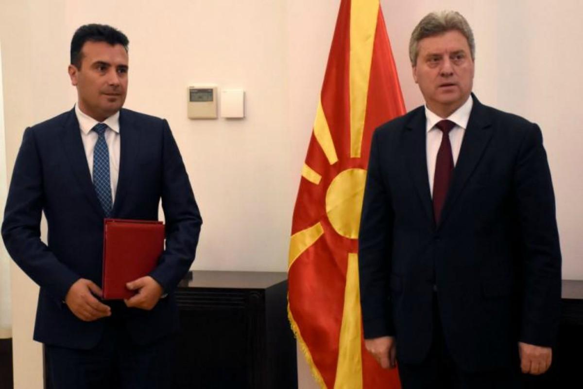 """Δημοψήφισμα στα Σκόπια: """"Εμφύλιος"""" μέχρι τέλους! """"Αγκάθι"""" για τον Ζάεφ ο Ιβάνοφ που καλεί σε μποϊκοτάζ!"""