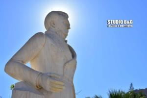 Φτιάχτηκε το άγαλμα του Καποδίστρια! Του είχαν σπάσει τα δάχτυλα [pics]