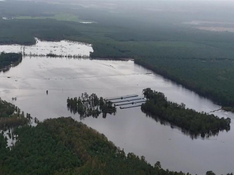 Βόρεια Καρολίνα: 35 οι νεκροί από τον κυκλώνα Φλόρενς – «Θεριεύουν » ποτάμια και φτάνουν τα… 19 μέτρα ύψος! – video