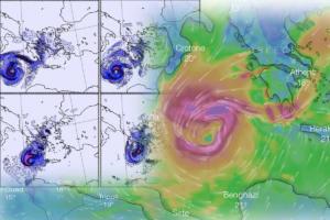 Καιρός – Μεσογειακός Κυκλώνας: Κύματα γίγαντες! Θα φτάσουν τα 11 μέτρα!