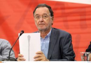 Λαφαζάνης: Προσβλητικές οι απειλές της Τουρκίας στο Αιγαίο