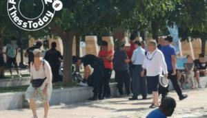 Θεσσαλονίκη: Πέντε προσαγωγές στον Λευκό Πύργο [pics]