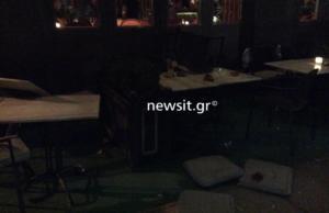 ΔΕΘ – Επεισόδια ακροδεξιών: Έσπασαν μαγαζιά και επιτέθηκαν σε θαμώνες! Pics – video