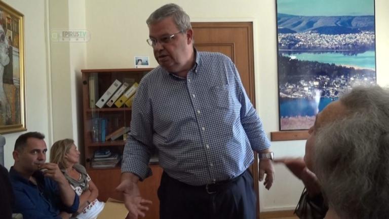 Ένταση στο γραφείο του περιφερειάρχη Ηπείρου – video