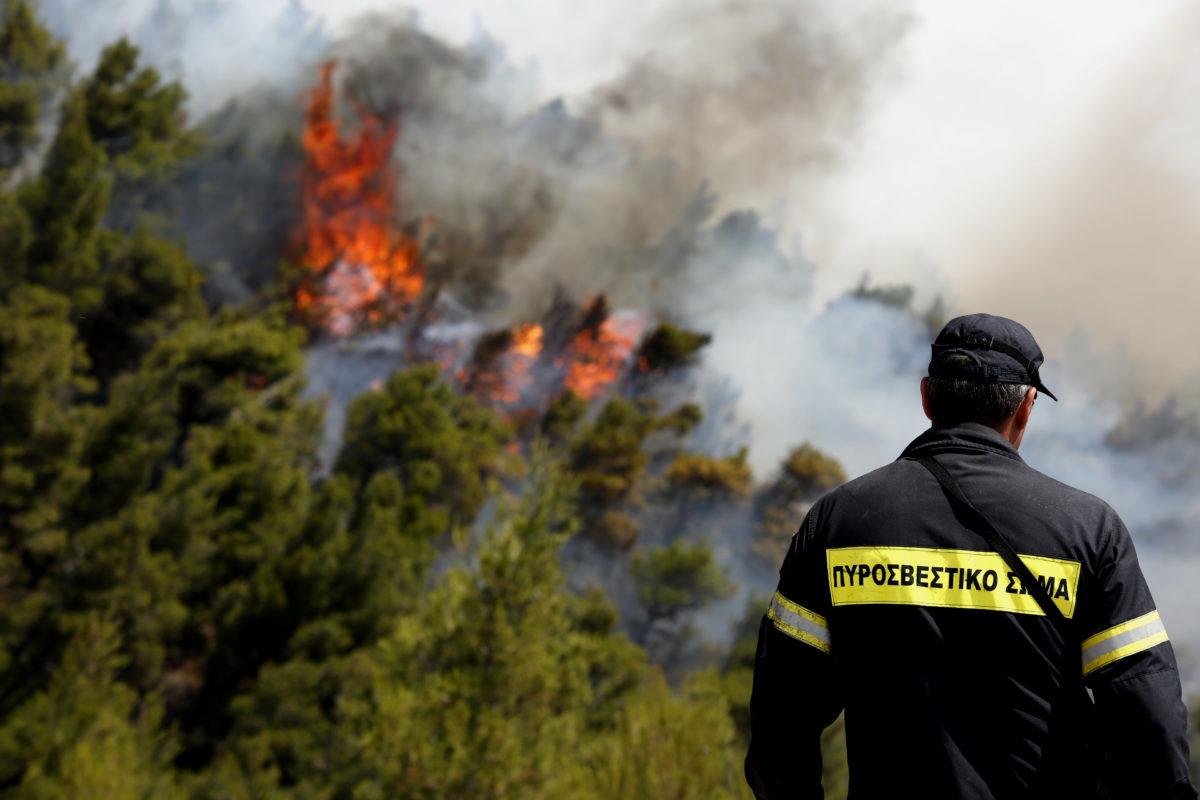 Σε κατάσταση συναγερμού για πυρκαγιές εννιά περιφέρειες