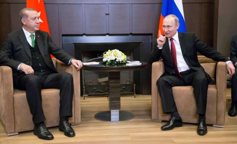 """Με """"επίκεντρο"""" την Συρία η συνάντηση Πούτιν -Ερντογάν"""