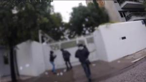 """Βίντεο – ντοκουμέντο από το """"ντου"""" του Ρουβίκωνα στο σπίτι του Πάιατ"""