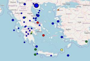 Σεισμός στη Μυτιλήνη – Τι καταγράφουν τώρα οι σεισμογράφοι