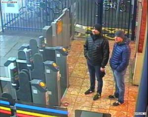 Υπόθεση Σκριπάλ: Στη δημοσιότητα τα ονόματα δυο Ρώσων υπόπτων για τη δηλητηρίαση