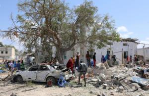 Τραγωδία στην Σομαλία – Αυτοκίνητο παγιδευμένο με εκρηκτικά έπεσε πάνω σε κτίριο – Έξι νεκροί [pics]