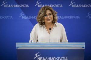 """Σπυράκη: Η κυβέρνηση βάζει σε κίνδυνο την χώρα με την ακατάσχετη """"παροχολογία"""" της"""