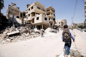Συρία: Εκατοντάδες άμαχοι εγκαταλείπουν την επαρχία Ιντλίμπ