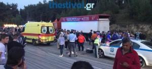 Θεσσαλονίκη: Σύγκρουση λεωφορείου με Ι.Χ – Δύο τραυματίες