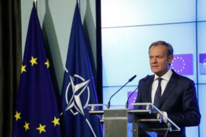 Brexit: Έκτακτη σύνοδο κορυφής το Νοέμβριο ανακοίνωσε ο Τουσκ