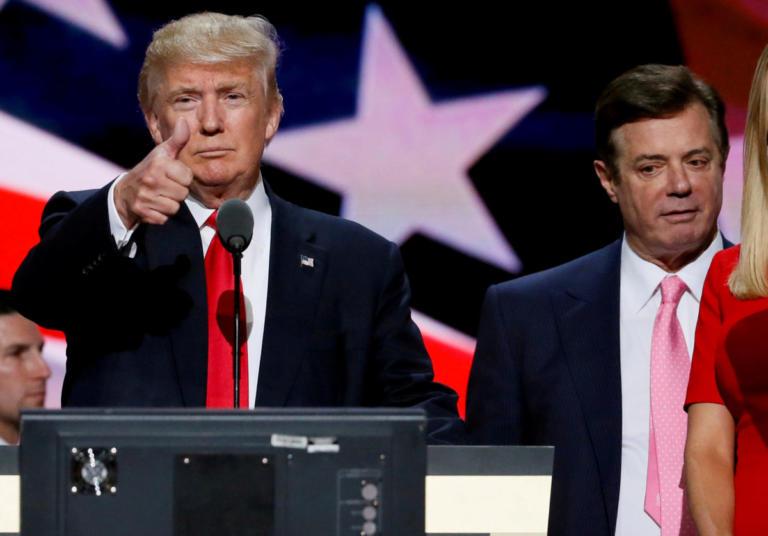 """""""Αδειάζει"""" και χτυπά τον Τραμπ ο… αγαπημένος του Μάναφορτ"""