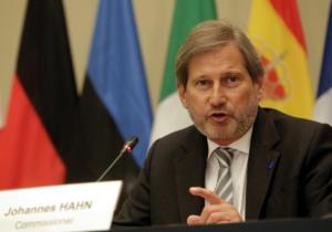 Κανένα ενδεχόμενο οικονομικής βοήθειας της ΕΕ στην Τουρκία διαμηνύει ο επίτροπος Χαν