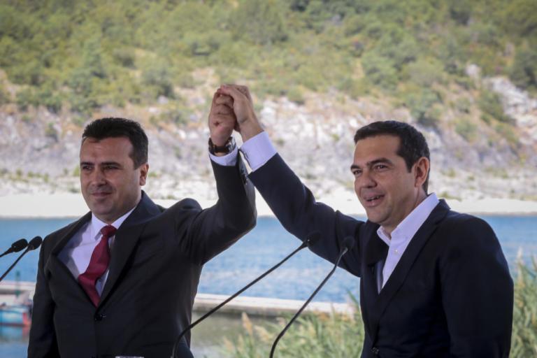 """Δημοψήφισμα ΠΓΔΜ: Ο Τσίπρας τηλεφώνησε στον """"γενναίο"""" Ζάεφ"""
