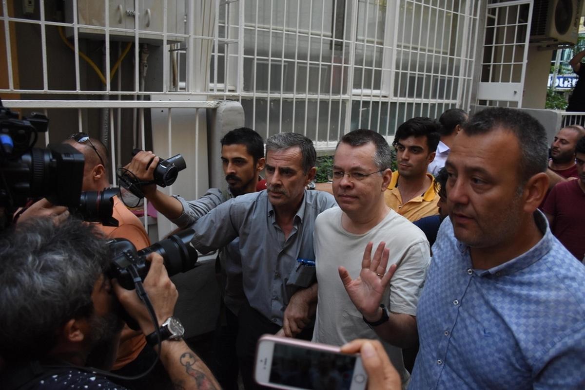 Στο Συνταγματικό Δικαστήριο της Τουρκίας η υπόθεση του πάστορα Μπράνσον