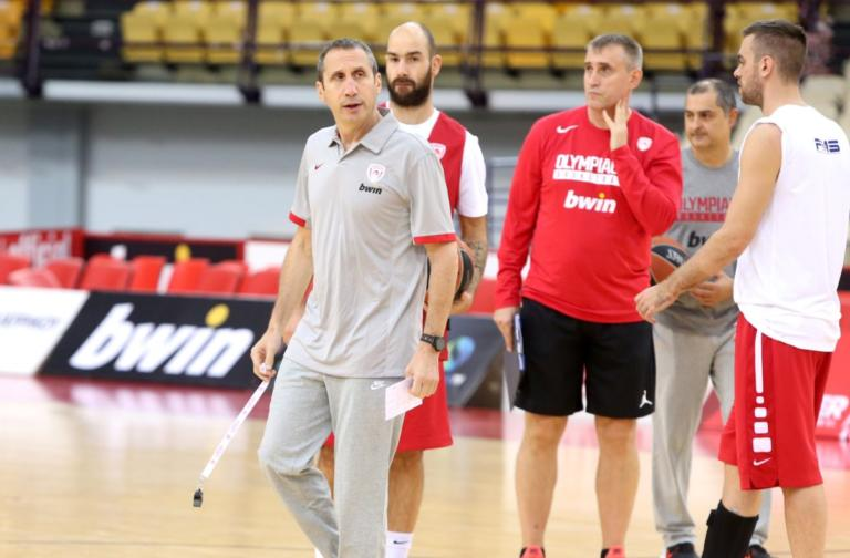 """Ολυμπιακός – Μπλατ: """"Πρόκληση η Αρμάνι – Ανυπομονώ να παίξουμε στο ΣΕΦ"""""""