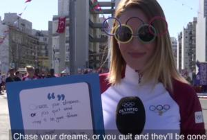 """Κορακάκη: """"Ήμουν έτοιμη να τα παρατήσω! Κυνηγήστε τα όνειρά σας"""" – video"""