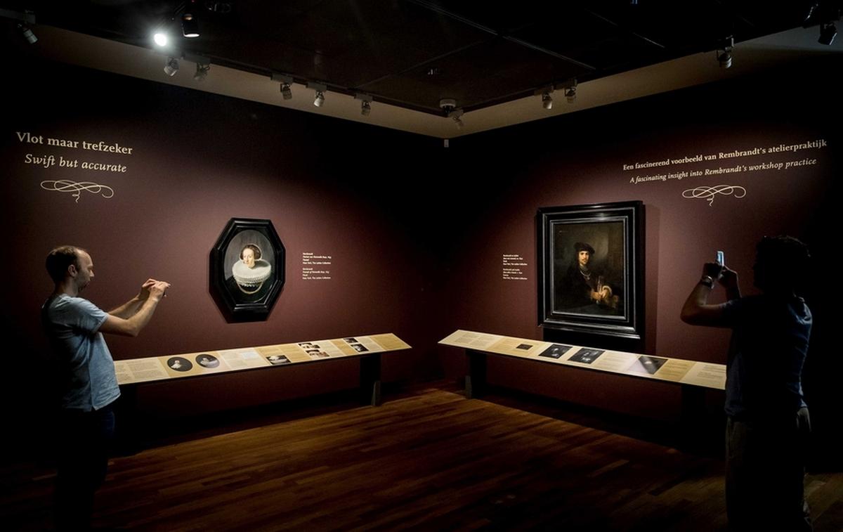 «Νυχτερινή Περίπολος»: «Κλειδαρότρυπα» στη συντήρηση πίνακα του Ρέμπραντ